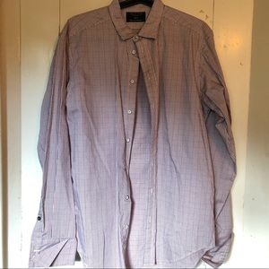 Rag and Bone dress shirt with French cuffs